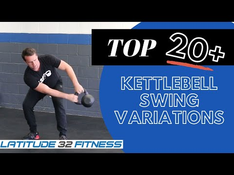 21 Advanced Kettlebell Swing Exercises and Variations