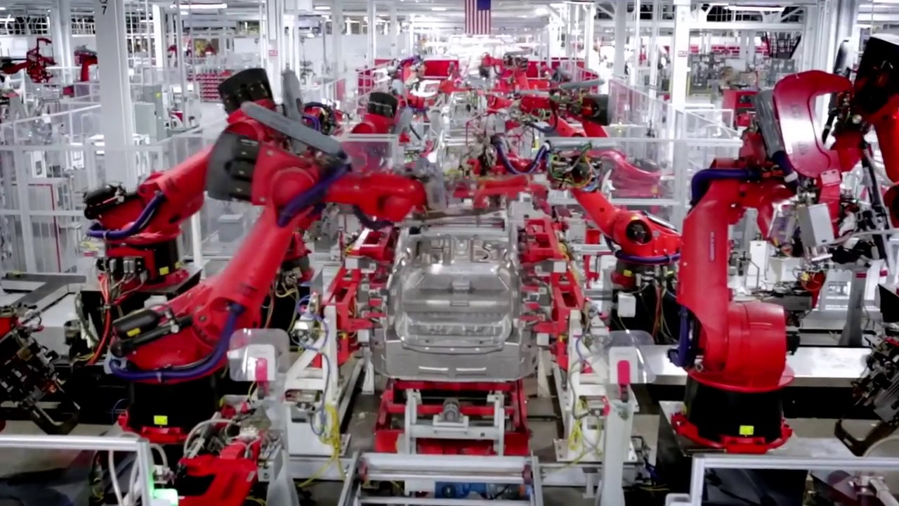 How It's Made: Tesla Cars - YouTube