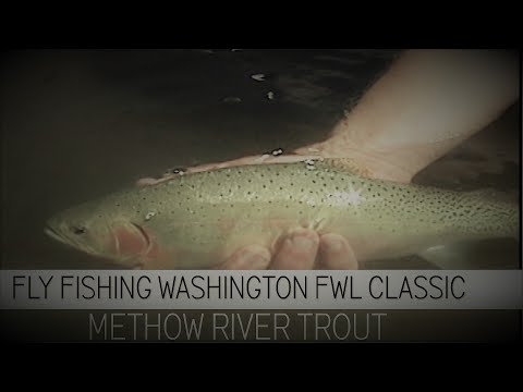 Fly Fishing Washington State FWL Classic Methow River Trout 2006