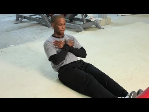 How To Lose Belly Fat With Sit-Ups For Men : Exercises To Increase Athletic Performance