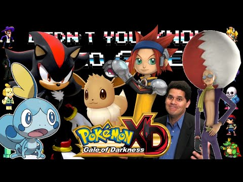 Pokémon XD: Gale Of Darkness - Didn't You Know Video Games?