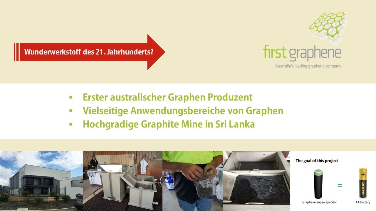 First Graphene - INVEST 2018