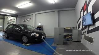 VW Golf 6 1.6 tdi 105cv Reprogrammation Moteur @ 142cv Digiservices Paris 77 Dyno