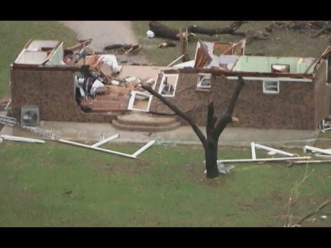 Multiple tornados rip through Texas, US
