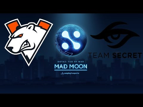 [Dota 2 Live] 🔴 Virtus.Pro vs Team Secret [RU] WePlay! Dota 2 Tug of War : Mad Moon |BO3|✅