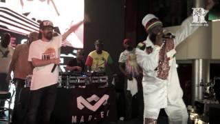 Capleton & Damian Marley @ Jamrock Cruise 2015