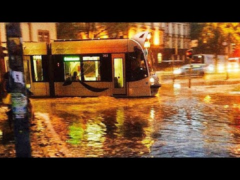 So Wütete Das Unwetter In Freiburg