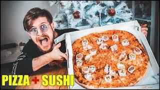 COSA SUCCEDE SE ORDINI UNA PIZZA A DOMICILIO CON IL SUSHI! thumbnail