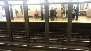 String Duo (Violin, Cello) in the NY Subway - 51st and Lexington