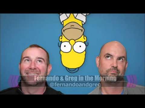 Fernando & Greg Host the Simpsons Classics Marathon on the CW