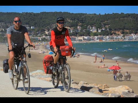 Cycling Fun with Diana, Mark, Max, Ryan & Darren in Catalonia, Spain - EP. #123