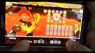 [Review] Cookie Run SS4 : Fire Spirit + King Chocodrop : ภูตอัคคี+ราชาช็อคโก้ดร็อป