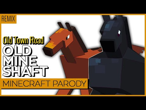 OLD MINE SHAFT【Old Town Road Minecraft Parody】Annapantsu & Kuraiinu