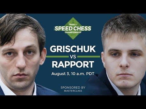Speed Chess Championship: Alexander Grischuk vs Richard Rapport