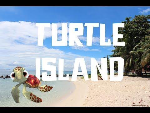 Turtle Island in Borneo (Selingan Island)