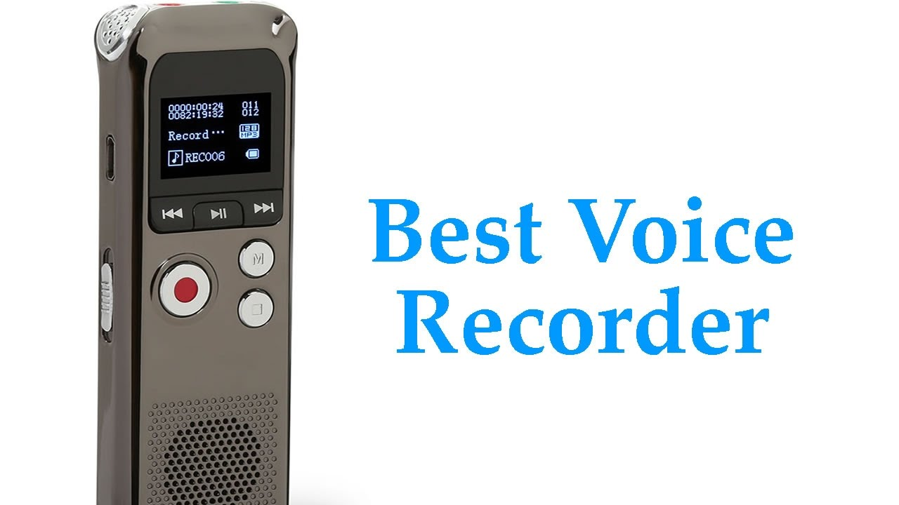 best handheld voice activated recorder high quality audio youtube. Black Bedroom Furniture Sets. Home Design Ideas