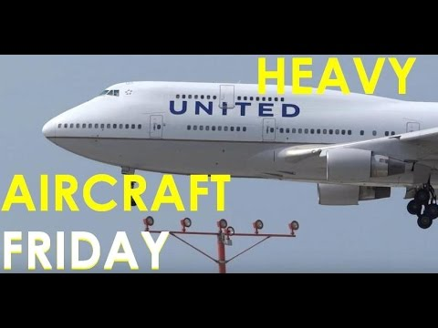 (HD) HEAVY AIRCRAFT FRIDAY - Watching Airliners / Planespotting Chicago O'Hare International Airport