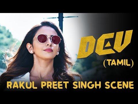 Dev - Rakul Preet Intro Scene | Karthi | Rakul Preet Singh | Prakash Raj