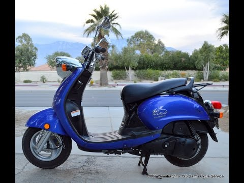 2007 yamaha vino 125 yj125 scooter for sale youtube. Black Bedroom Furniture Sets. Home Design Ideas