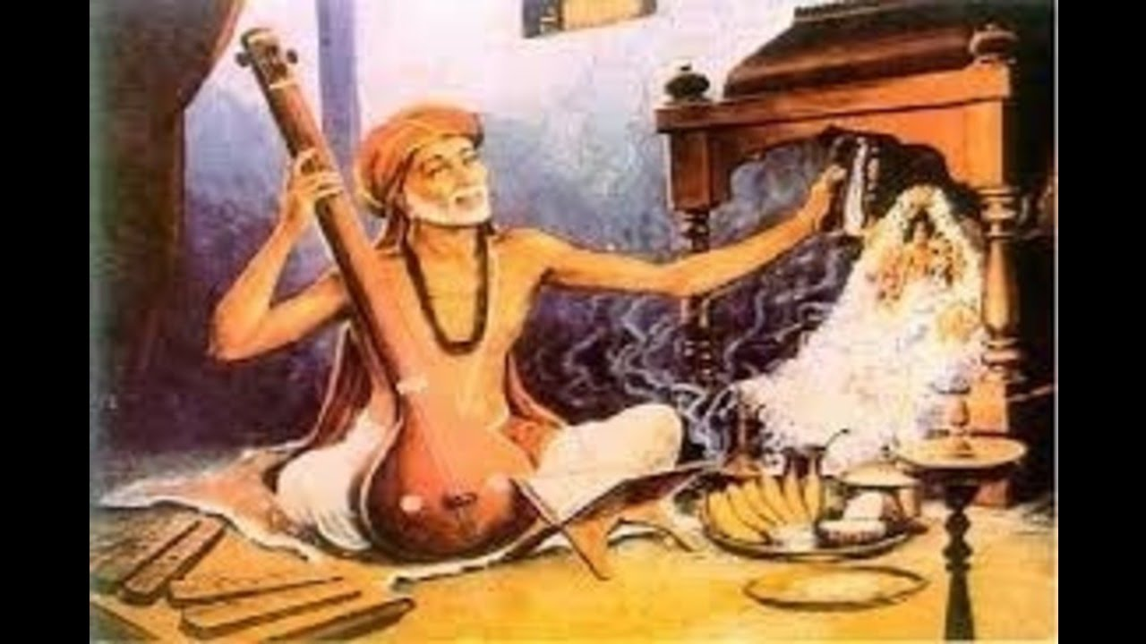 Thyagaraja Kriti-nannu Palimpa-Mohanam-Adi-ML Vasanthakumari