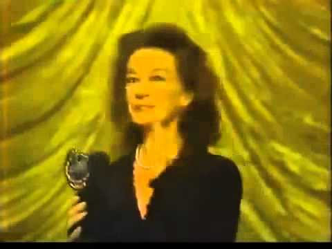 Zoe Caldwell wins 1982 Tony Award for Best Actress in a Play