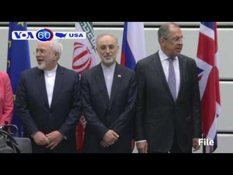 TT Trump kêu gọi xét lại thoả thuận hạt nhân với Iran (VOA60)