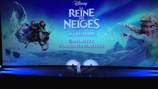 """La Reine des Neiges - """"Libérée, Délivrée"""" par Anais Delva - Avant-première française"""