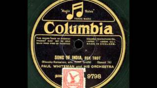 Song Of India - Paul Whiteman