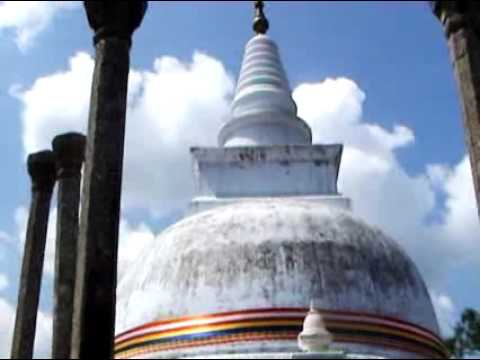 Thuparamaya - The collarbone Relic of the Buddha is enshrined here