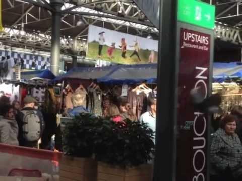 Spitalfields Market, London, October 2012