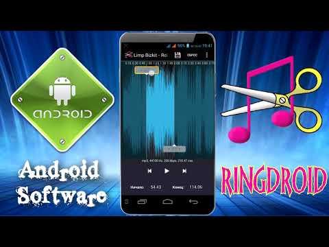 Как обрезать музыку на телефоне \ Ringdroid  \ Создание и редактирование аудио записей на смартфоне