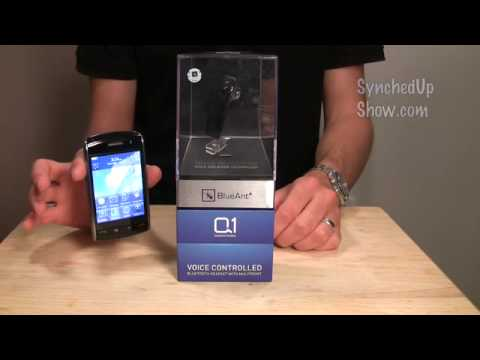 BlueAnt Q1 Voice Controlled Bluetooth Headset Unboxing