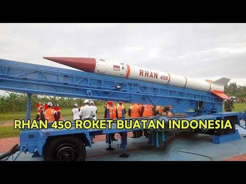 DAHSYAT ROKET RHAN 450 ROKET BALISTIK BUATAN INDONESIA