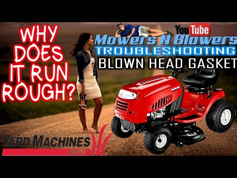 Mower Surges Up and Down FIXED how to - YouTube