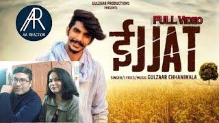 Pakistani react on izzat song by gulzaar chhaniwala | AA reactions