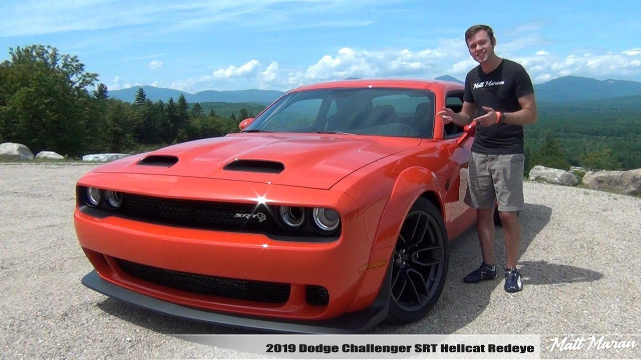 Review 2019 Dodge Challenger Hellcat Redeye 797 Hp Youtube