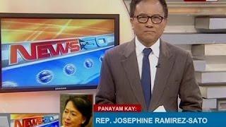 NTG: Panayam kay Occidental Mindoro Rep. Josephine Ramirez-Sato
