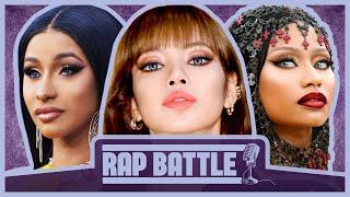RAP BATTLE - Nicki Minaj, BLACKPINK, Cardi B, Iggy Azalea, Ariana Grande, Beyoncé, & More | TeijiWTF