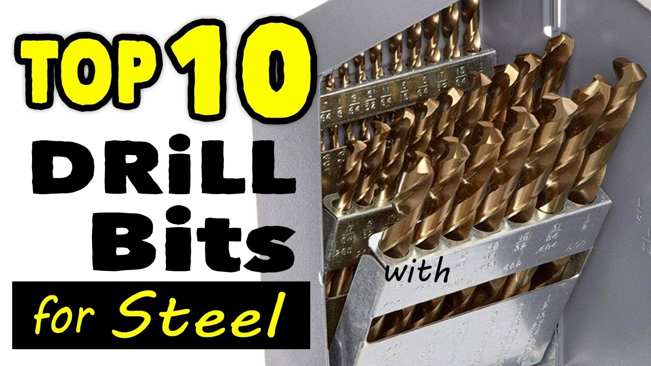Best Drill Bits For Hardened Steel And Stainless Steel Metal Youtube