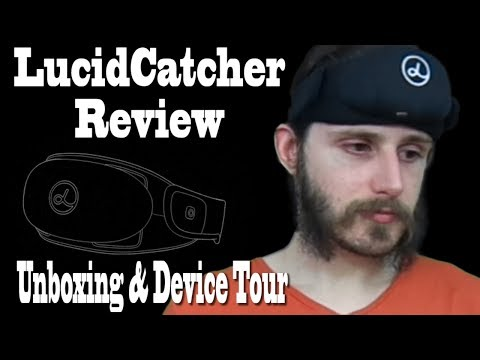 LucidCatcher Review, Unboxing, & Device Tour (Lucid Dreaming Tech)