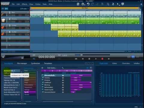 Tutorial Magix Music Maker (español) primeros pasos