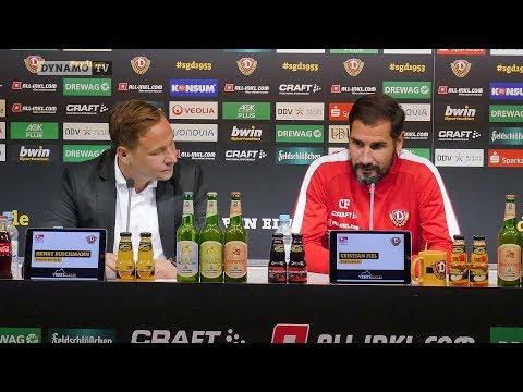 33. Spieltag | KSV - SGD | Pressekonferenz vor dem Spiel