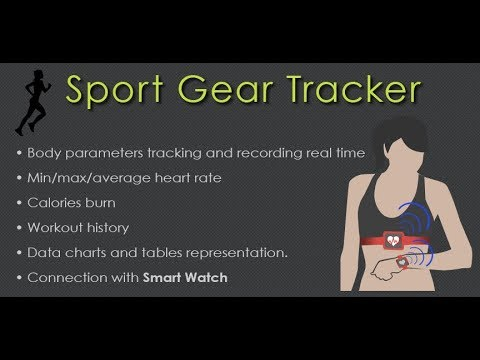 Sport Gear Tracker - BLE Heart Rate Monitor