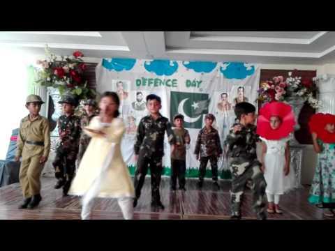 Grade 1 performance- Defence Day of Pakistan 2016- Thinker's Alliance C.S.S school Bhakkar