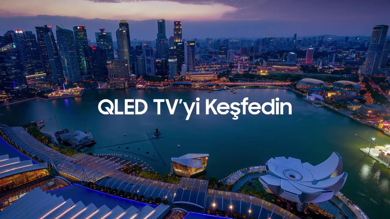 QLED 4K TV'yi Keşfedin | Q70T Serisi | Samsung