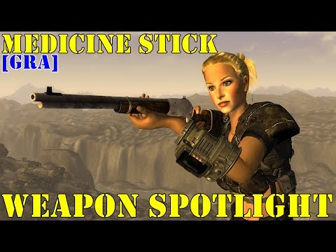 Fallout New Vegas: Weapon Spotlights: Medicine Stick