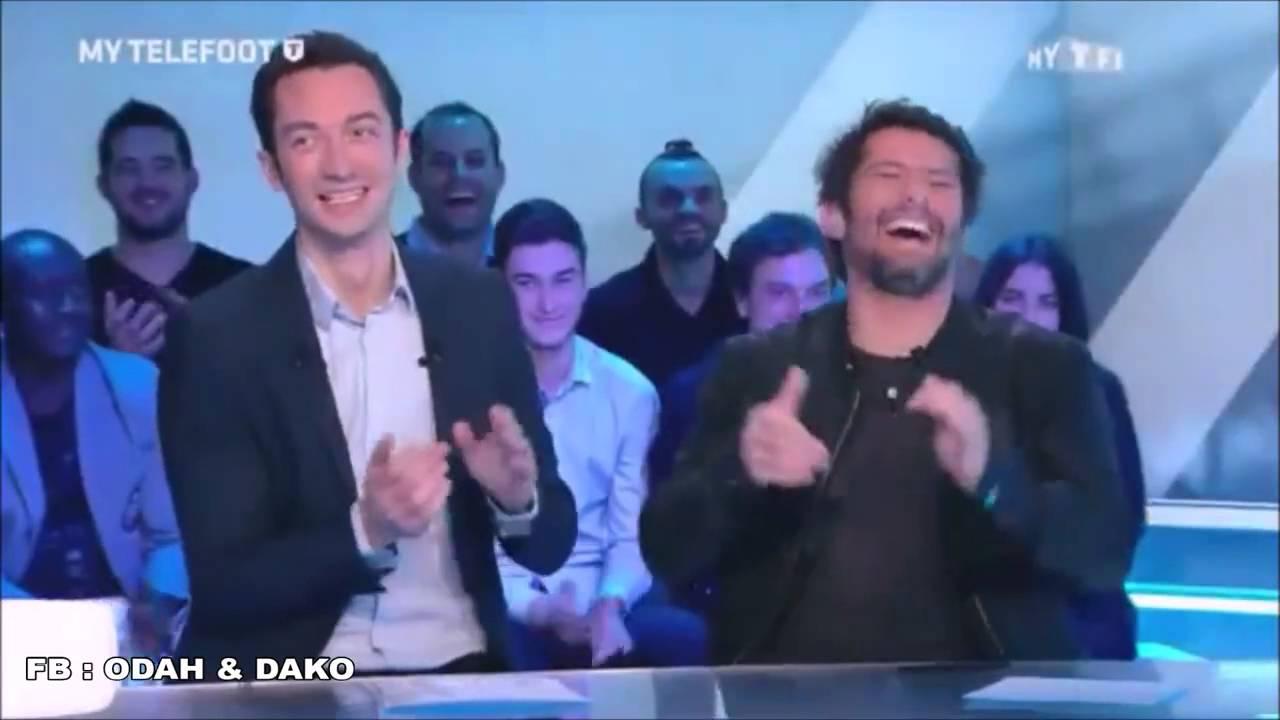 Téléfoot - Improvisation d'Odah & Dako sur le match OM-OL