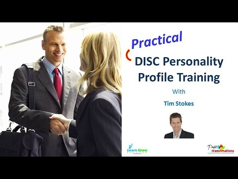 DISC Personality Types | People Management Skills | DISC Profile Training | How to Profile People