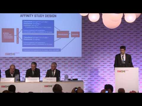 ESMO 2016: Press brief on the AFFINITY Phase III trial for second-line metastatic prostate cancer