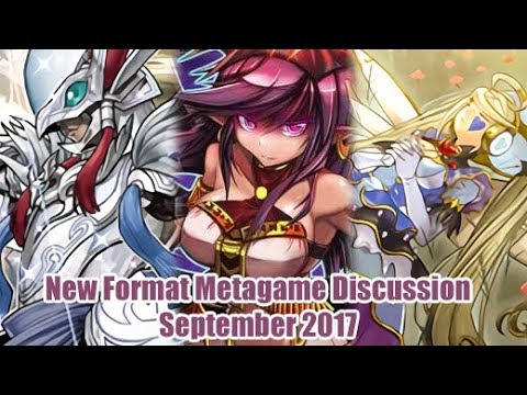 Yugioh September 2017 Metagame Discussion Post Ban List